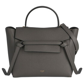 セリーヌ CELINE ベルトバッグ マイクロ BELT BAG MICRO トートバッグ ショルダーバッグ グレー系 18915 3ZVA 10DC