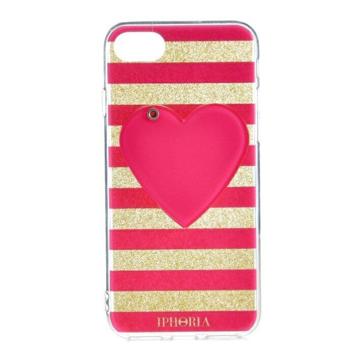 アイフォリア IPHORIA Mirror Case Pink Heart I PHONE 7/8ケース アイフォン7/8ケース スマホケース 14273 0001【AWSALE】