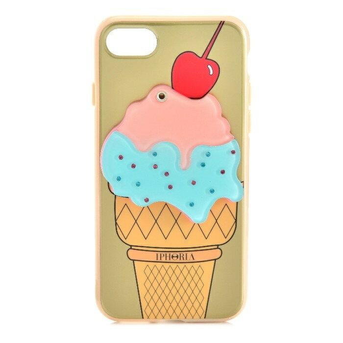 アイフォリア IPHORIA Mirror Case Golden Ice-Cream I PHONE 7/8ケース アイフォン7/8ケース スマホケース 14278 0001【AWSALE】