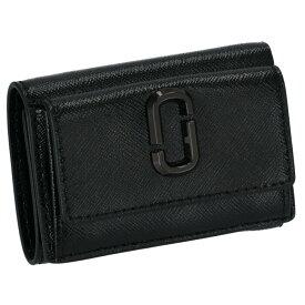 マークジェイコブス MARC JACOBS 財布 三つ折り ミニ財布 スナップショット SNAPSHOT DTM ダブルJ ブラック M0014987 0032 001