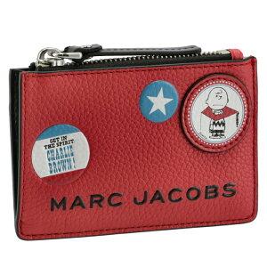 マークジェイコブス MARC JACOBS 【PEANUTS×MARC JACOBS】コラボ カード&コインケース パスケース付き レッド系 M0016823 0004 601