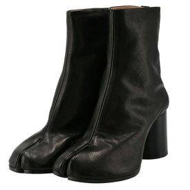 メゾン マルジェラ MAISON MARGIELA Tabi タビブーツ 足袋ブーツ レザーブーツ レディース 靴 ブラック S58WU0260 PR516 T8013