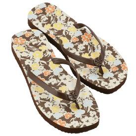 【SALE】トリーバーチ TORY BURCH ビーチサンダル THIN FLIP FLOP シューズ 靴 ブラウン系 マルチカラー 81071 0203 250