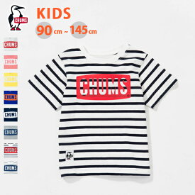 CHUMS チャムス キッズチャムスロゴTシャツ Kid's CHUMS Logo T-Shirt 『CH21-1050』 『2019年春夏』『ネコポス対応商品』