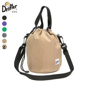 Drifter ドリフター / DRAWSTRING POUCH ドローストリングポーチ 『DFV1200』 巾着 ミニバッグ 『ネコポス対応商品』