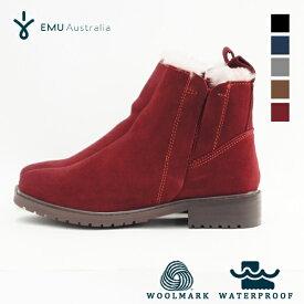 EMU / エミュ Pioneer パイオニア 『W11292』 防水ブーツ シープスキン ムートン 内ボア サイドゴアブーツ 『2019秋冬』