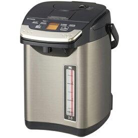 タイガー魔法瓶 TIGER PIG-S300-K(ブラック) とく子さん 蒸気レスVE電気まほうびん 3.0L PIGS300K