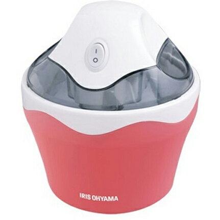 アイリスオーヤマ ICM01-VS(バニラストロベリー) アイスクリームメーカー