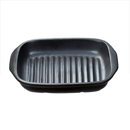 イシガキ産業 グリル名人 耐熱陶器プレート 角型 3749
