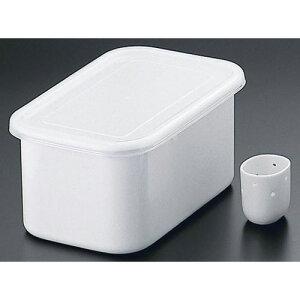 野田琺瑯 ホーローぬか漬け美人 冷蔵庫用ぬか床容器 3.2L TK-32