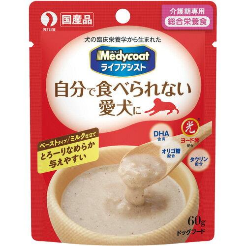 ペットライン メディコート ライフアシスト ペーストタイプ ミルク仕立て60g