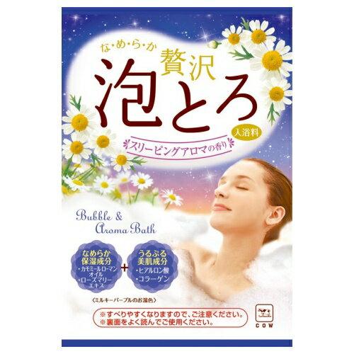 牛乳石鹸 お湯物語 贅沢泡とろ入浴料 スリーピングアロマの香り 30g
