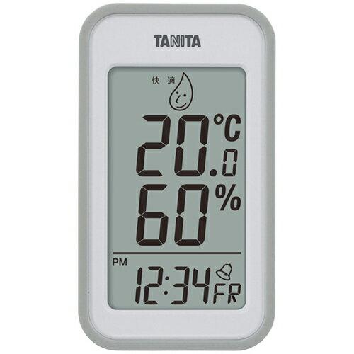温湿度計 TT-559-GY グレー