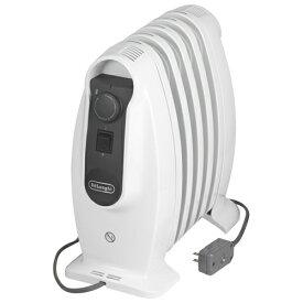【長期保証付】デロンギ NJM0505(ピュアホワイト+ミディアムグレー) オイルヒーター 500W