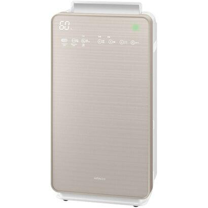 【長期保証付】EP-NVG110-N(シャンパンゴールド) 自動おそうじ クリエア 加湿空気清浄機 空気清浄48畳/加湿22畳