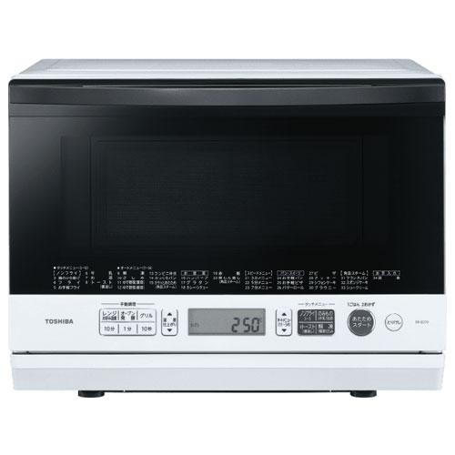 東芝 TOSHIBA ER-SD70-W(グランホワイト) 石窯ドーム 角皿式スチームオーブンレンジ 26L ERSD70W