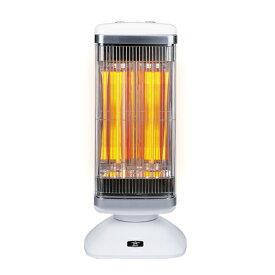アラジン AEH-2G10N-W(ホワイト) 遠赤外線NEWグラファイトeヒーター 2灯管 電気ストーブ