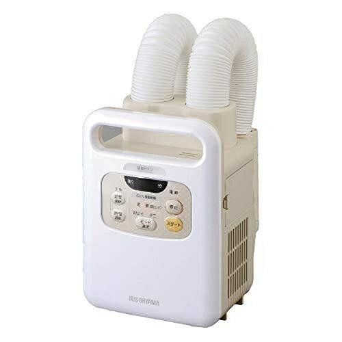 アイリスオーヤマ Iris Ohyama KFK-W1-WP ふとん乾燥機 カラリエ ツインノズル KFKW1WP