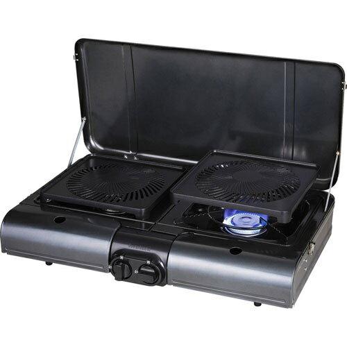 イワタニ CB-TBG-1 テーブルトップ型BBQグリル フラットツイングリル