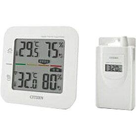 シチズン CITIZEN コードレス温湿度計 THD501 THD501ポータブル 熱中症対策 アウトドア 外出 気温 湿度 散歩 日焼け 太陽
