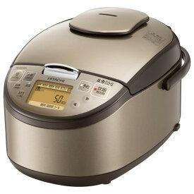 日立 HITACHI RZ-BG10M-T(ライトブラウン) 圧力IH炊飯器 5.5合 RZBG10M
