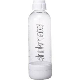 drinkmate DRM0022 ドリンクメイト 家庭用炭酸飲料メーカー 専用ボトルLサイズ(ホワイト)