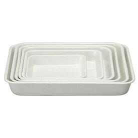 野田琺瑯 ホワイトシリーズ ホワイトバット 12取