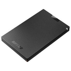 バッファロー SSD-PGC960U3-BA(ブラック) 外付SSD 960GB USB 3.1(Gen1) /3.0/2.0接続 耐衝撃