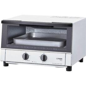 タイガー魔法瓶 KAM-R130-WM(マットホワイト) やきたて オーブントースター 1300W