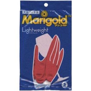 マリーゴールド ゴム手袋 Sサイズ レッド