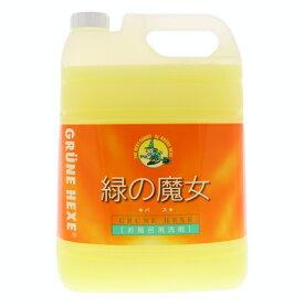 ミマスクリーンケア 緑の魔女 バス用洗剤 業務用 5L