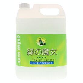ミマスクリーンケア 緑の魔女 キッチン用洗剤 業務用 5L