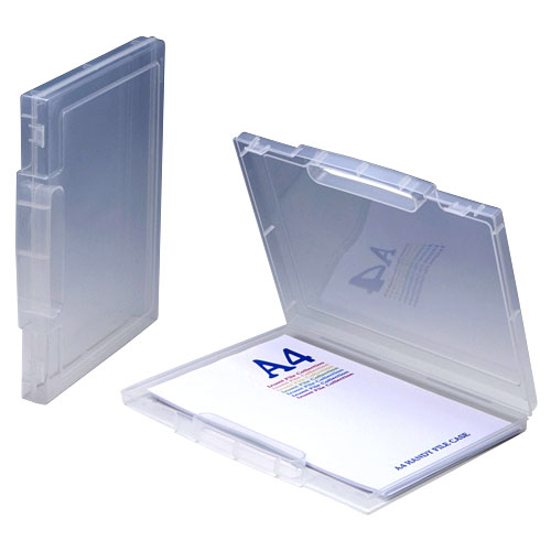 A4アクティブファイルケース クリア