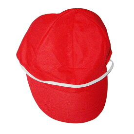 赤白帽 メッシュ