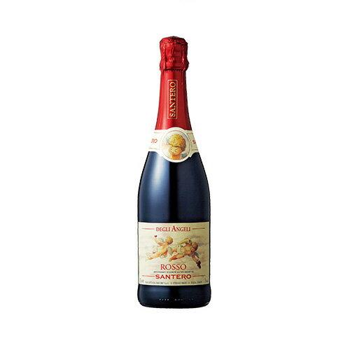 【取寄品】サンテロ 天使のロッソ【スパークリングワイン】 750mlこのワインはブラケット種の黒葡萄で造られた甘口スパークリング