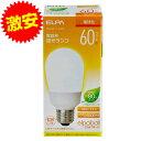 電球型蛍光灯 60Wタイプ E26 電球色 A型 EFA15EL/11-A062H ELPA