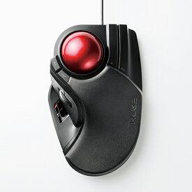 エレコム トラックボール (人差し指・中指操作タイプ) ブラック M-HT1URBK 【代引不可】【送料無料(一部地域除く)】