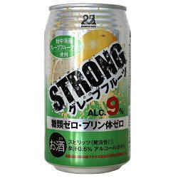 日本アクセスストロングチューハイグレープフルーツ350ml×24缶