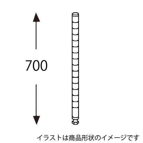 【取寄品】エレクター ホワイトポスト H28PW2 2本入