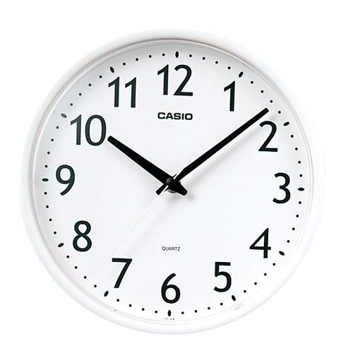 カシオ 掛時計 IQ-58-7JF ホワイト