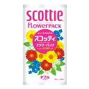 日本製紙 クレシア スコッティフラワー トイレットペーパー
