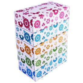 ボックスティッシュ ティッシュペーパー 150組(150W) 1パック(5箱)