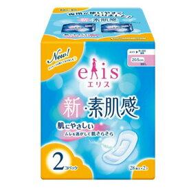elis 新・素肌感 ふつう〜長時間用 羽なし 28枚×2個