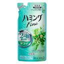 ハミングファイン リフレッシュグリーンの香り 詰替480ml