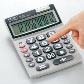 カクセー シニアに優しい12桁電卓 KD-922