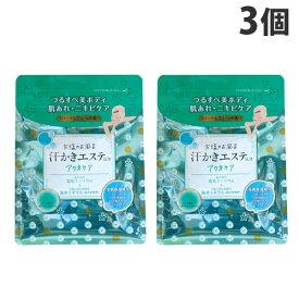 マックス 汗かきエステ気分 アクネケア フローラルグリーンの香り 500g×3個 【医薬部外品】