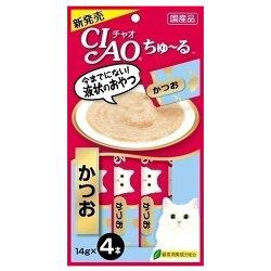 【大量大特価】CIAOちゅ〜るかつお4SC-72(14g×4)×48個【送料無料(一部地域除く)】