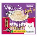 いなば CIAO チャオ ちゅ〜る かつお ほたてミックス味 14g×20本 SC-192 国産
