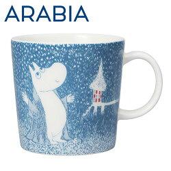 Arabiaアラビアムーミンマグ淡雪ライトスノーフォールLightSnowfall300mlマグカップ2018年冬季限定