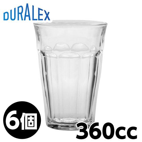 DURALEX デュラレックス ピカルディ 360cc 6個入